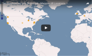 Troubleshooting with Wireshark – Mapping IP Address Locations